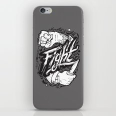 The Fight iPhone & iPod Skin