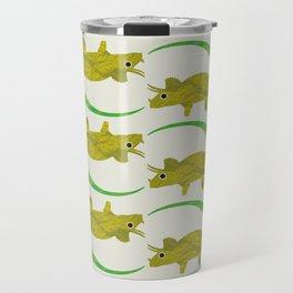 Paper Dino Travel Mug