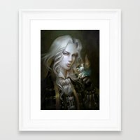 castlevania Framed Art Prints featuring Alucard. Castlevania Symphony of the Night by Nell Fallcard