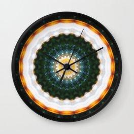 Mandala happy new year Wall Clock