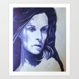 girl IV Art Print