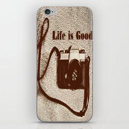 Life is Good iPhone Skin