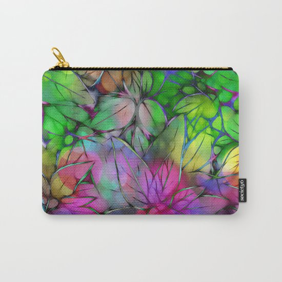 Dream Colored Leaves Carry-All Pouch