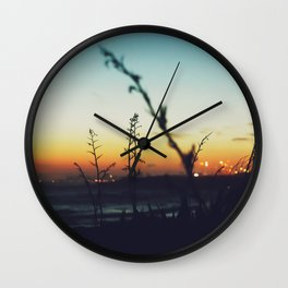 Away from the city Wall Clock