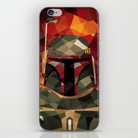 boba fett iPhone & iPod Skins featuring Boba Fett by Eric Dufresne