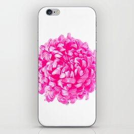 Pink Pop Art Inspired Flower iPhone Skin
