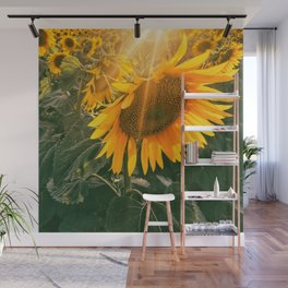 summer in the fields Wall Mural