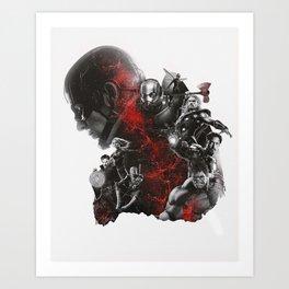 Endgame Art Print