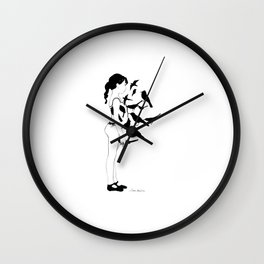 Domatrice Wall Clock