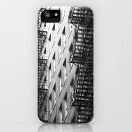 Chicago fire escapes iPhone Case