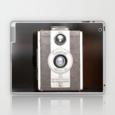 1950 Vintage Coronet twelve-20 twin lens box camera Laptop & iPad Skin