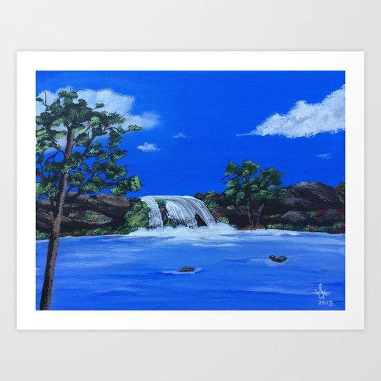 Morning Waters Art Print