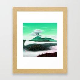 BROMO Framed Art Print