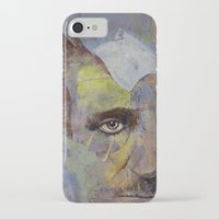 poe iPhone & iPod Cases featuring Poe by Michael Creese