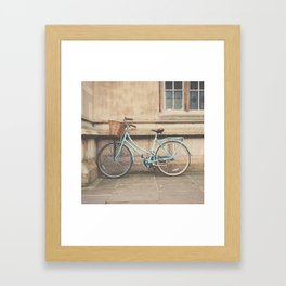 the bicycle ... Framed Art Print