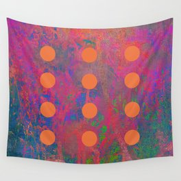 Dotted Abstract Wall Tapestry