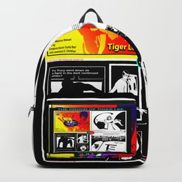 THE ORIGIN OF TIGER LEE ... book poster Backpack