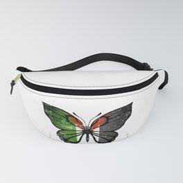 Palestine Butterfly Fanny Pack
