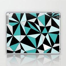 Geo - blue, gray and black. Laptop & iPad Skin