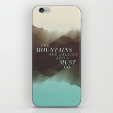 Mountains - Color iPhone & iPod Skin