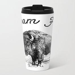 Roam Free Metal Travel Mug