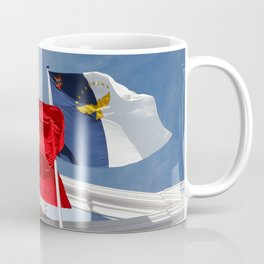 Portugal and Azores flags Coffee Mug