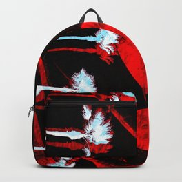 Surf in the City - Black + Red Backpack