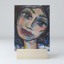 I live in Paris, not fear Mini Art Print