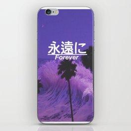 forever edit iPhone Skin