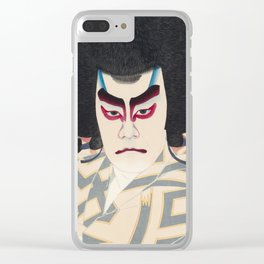 Japanese Ukiyo-e Art Clear iPhone Case