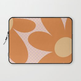 Flower Land - Peach and Orange Laptop Sleeve