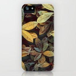 Inspired Foliage iPhone Case