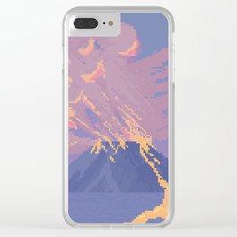 Erupt Clear iPhone Case