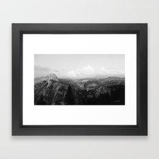 Yosemite x Glacier Point Framed Art Print