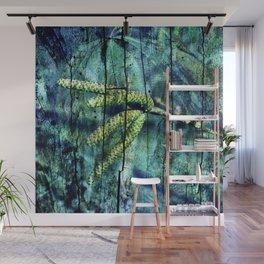 ARCHAIC GREEN DREAM Wall Mural