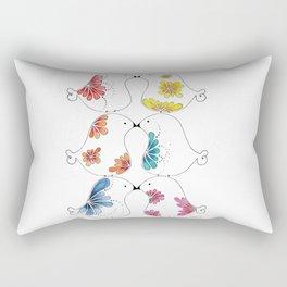 Pajaritos Rectangular Pillow