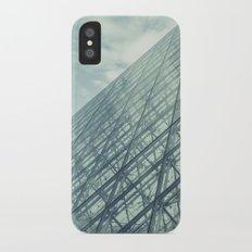 Louvre Pyramid Paris iPhone X Slim Case