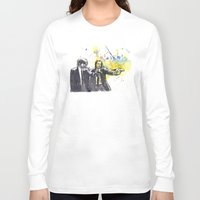 pulp Long Sleeve T-shirts featuring Pulp Fiction by idillard