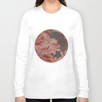 leah flores Long Sleeve T-shirts featuring Flores by MACACOSS