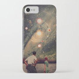 Light Explosions In Our Sky iPhone Case