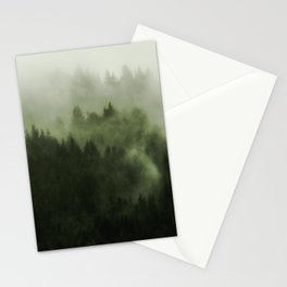 Drift - Green Mountain Forest Stationery Cards