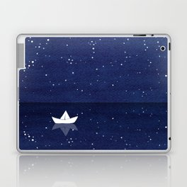 Zen sailing, ocean, stars Laptop & iPad Skin