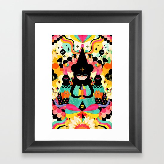 Magical Friends Framed Art Print