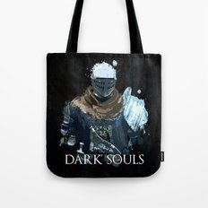 Dark Souls Knight Splatter Tote Bag