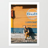 Nepali Man Art Print