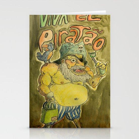Viva el piratão Stationery Cards