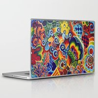 globe Laptop & iPad Skins featuring Globe by Leah Moloney