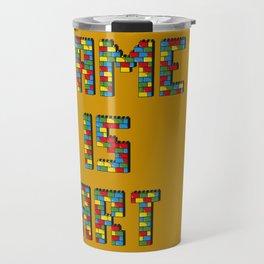 Game is art Travel Mug