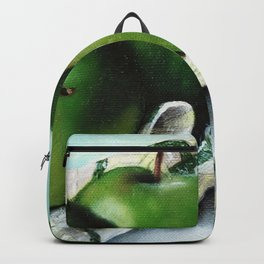 Green Apple and Tea Towel II Backpack
