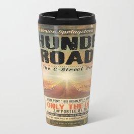 THUNDER ROAD CONCERT POSTER Travel Mug